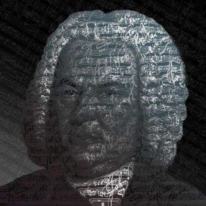 Grafik von J. S. Bach zum 333.